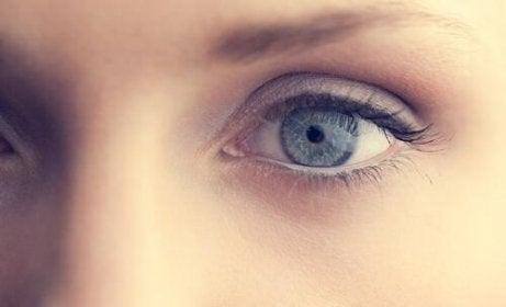 En kvinnes øyne