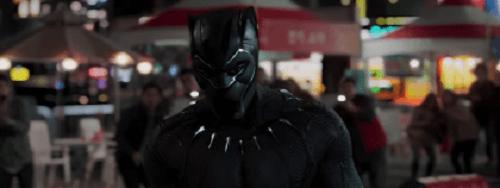 Black Panther i aksjon.