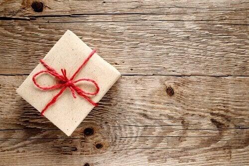 Innpakket gave