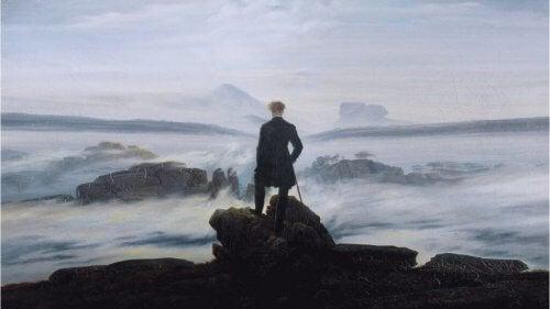 Et Kaspar Friedrich-maleri