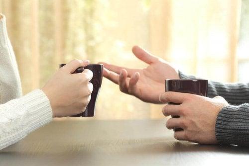 Å holde seg rolig under et argument