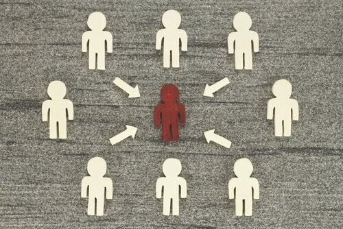 Personer i diagram.