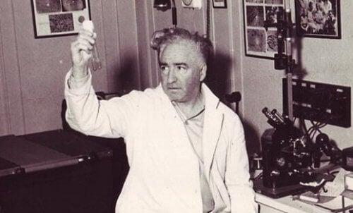 Wilhelm Reich i labratoriet