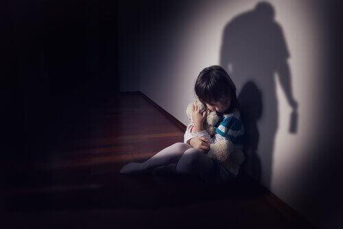 Barn som opplever vold
