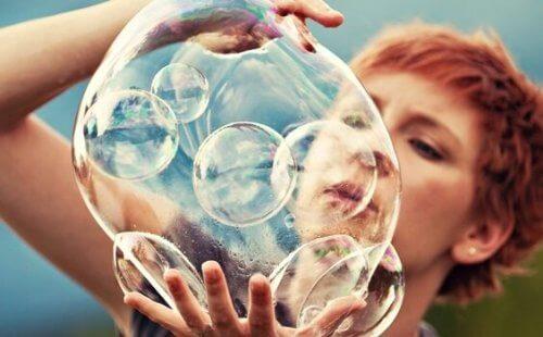 Den kreative hjernen og bobler