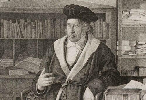 Hegel introduserte dialektikk-begrepet.