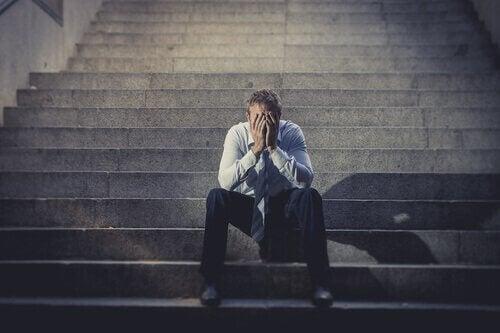 Hvis du ikke leter etter arbeid, kan du oppleve en nedgang i mental helse.