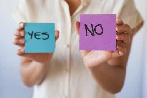 Hvorfor er det viktig å lære å si nei?