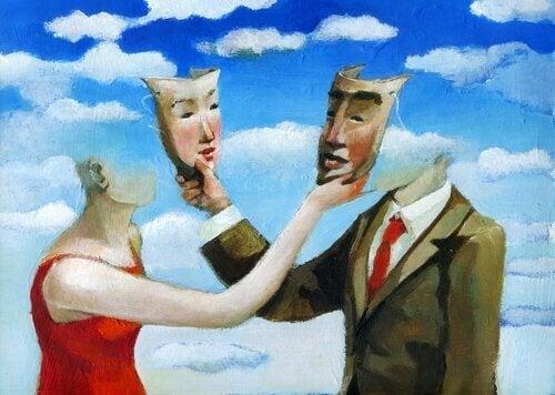 Livet er et spill i henhold til sosial dramaturgi.