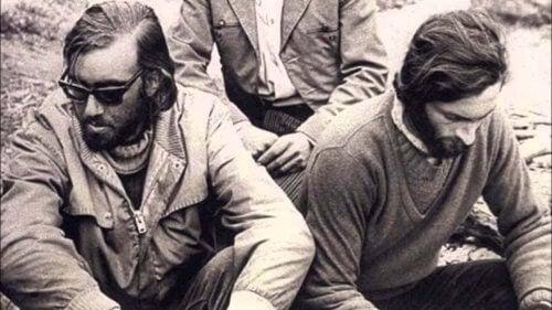 Nando Parrado var en av 16 overlevende av flyulykken