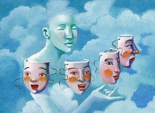 Sosial dramaturgi: Slik utvikler vi masker for å samhandle