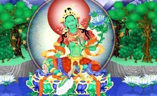 Grønn Tara-mantraet: En frigjørende praksis