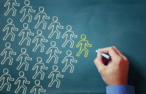 Folk følger empatisk ledelse.