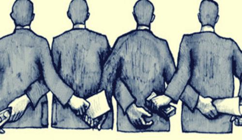 Korrupsjon begynner med anonyme mennesker