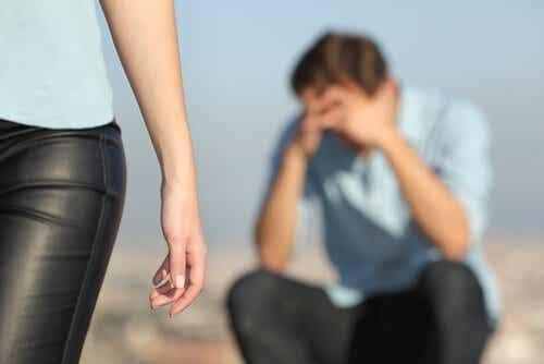 Virkningene av overtredelser i et forhold