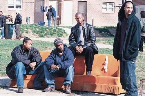 Nabolaget i Baltimore.