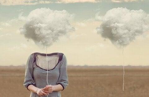 Ballonger av skyer