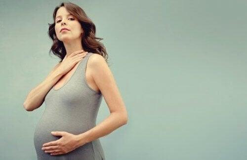 Skjoldbruskkjertelen og svangerskap