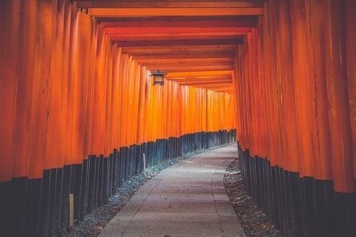 Dødens opprinnelse i henhold til japansk mytologi