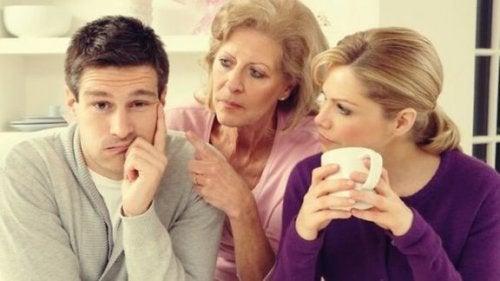 Når familien din påvirker forholdet ditt