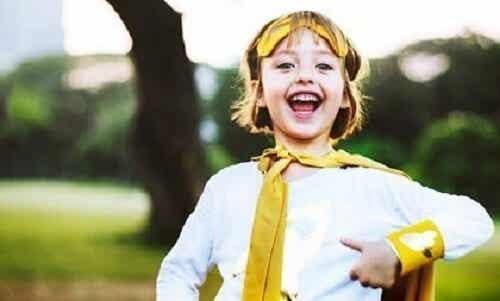 Divergerende tenkning hos små barn