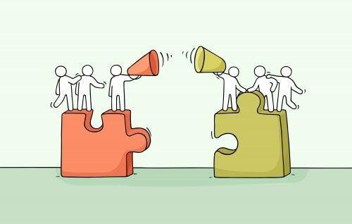 Gruppeskjevhet favoriserer egen gruppe.