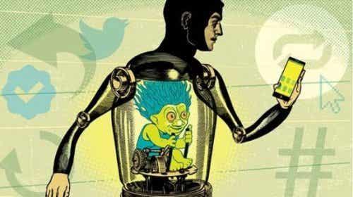Internett-troll og deres aggressivitet