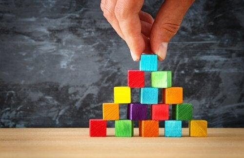 De fem nivåene i Maslows behovspyramide