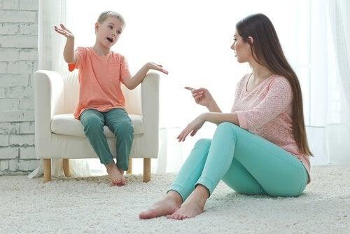 Distraksjonsmetoden er godt egnet for små barn.