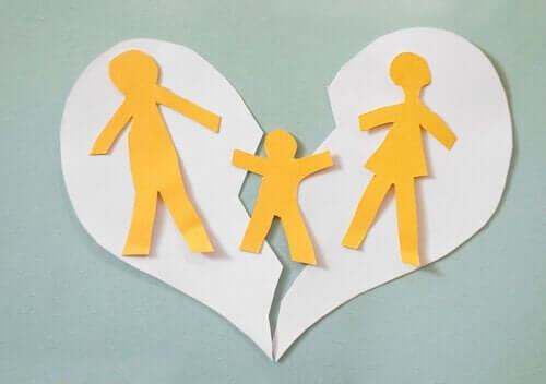 Forskjellene mellom separasjon og skilsmisse