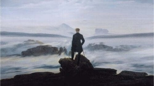 Caspar Friedrich maleri.