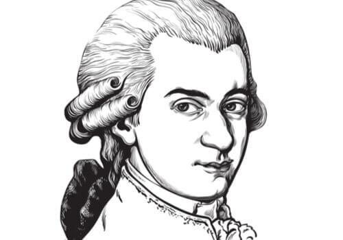 Av en søskenflokk på syv, var det kun Wolfgang Amadeus og hans eldre søster som overlevde.