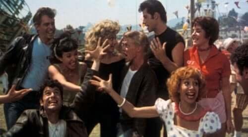 Karakterene i filmen Grease