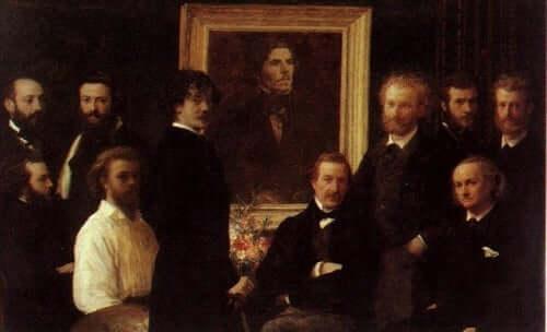 Tidlig maleri av Claude Monet.