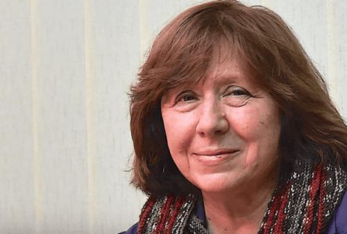 Lær alt om den modige journalisten Svetlana Aleksijevitsj
