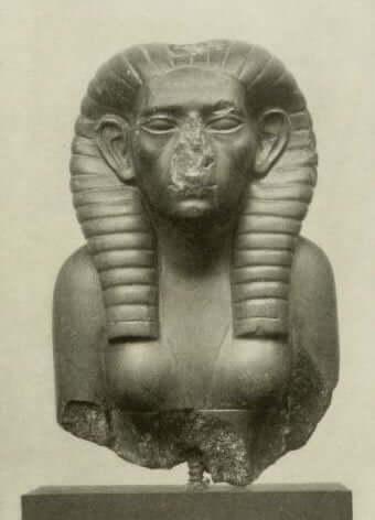 En statue av Sobekneferu