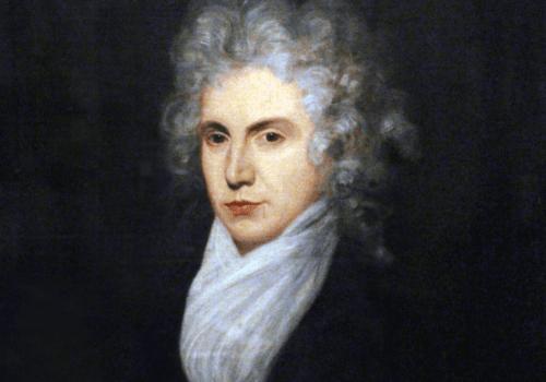 Et portrett som viser Mary Wollstonecraft