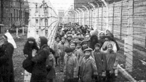 Holocaustofre i konsentrasjonsleir.