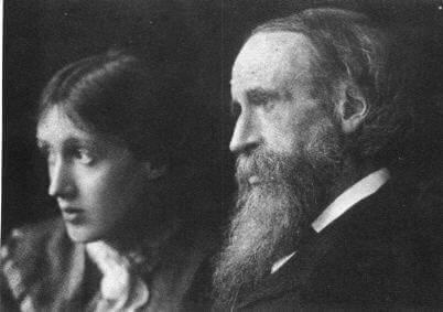 Virginia Woolf og hennes far