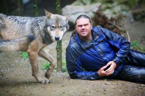 Shaun Ellis: En mann blant ulver