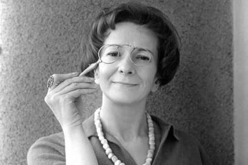 Wisława Szymborska som ung