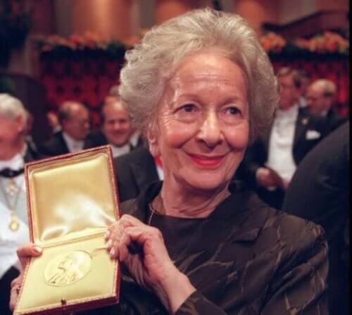 Wisława Szymborska med en bemerkelse