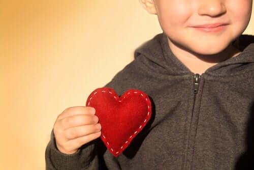 Barns emosjonelle utvikling er viktig for den sosiale utviklingen.
