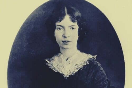 Bilde av Emily Dickinson.