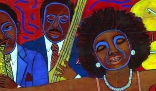 Faith Ringgold brukte teppelaging i kunsten sin for å uttrykke rasisme på 60-tallet.