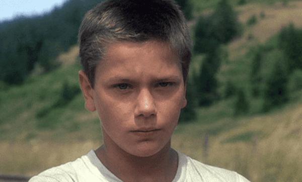 River Phoenix tidlig i hans karrière som skuespiller.