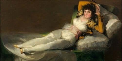Den påkledde Maja av Francisco de Goya.