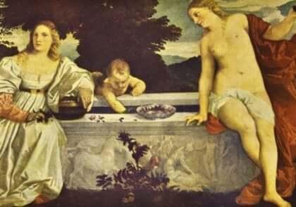 Et maleri av Titian.
