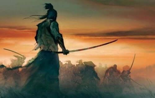 Samuraikriger Bokuden.