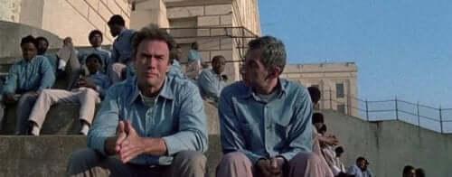 Clint Eastwood som hovedrolleinnehaver.